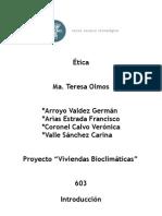 Viviendas bioclimáticas(1)