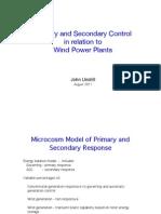 PrimaryandSecondaryControl John Undrill
