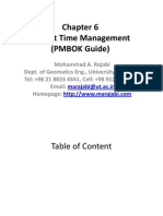 Time Management PMBOK