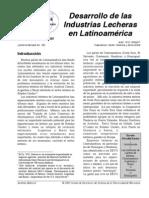Desarrollo de Las Industrias Lecheras en Latinoamerica