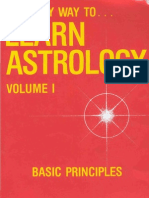 Marion D. March and Joan McEvers - The Only Way to Learn Astrology Volume 1