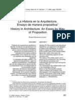 Historia Arquitectura