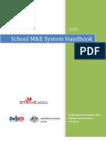FINAL School M&E Handbook