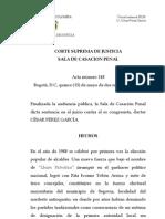Sentencia Excongresista Csar Prez 15 Mayo 2013 33118