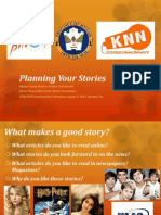 Planning Your Stories
