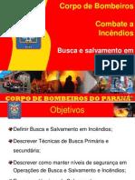 Módulo 8 - Busca e Salvamento em Incêndios