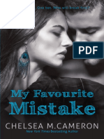 My Favourite Mistake by Chelsea M. Cameron - Chapter Sampler