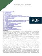 490_ICMS-NACIONAL - ESCRITURAÇÃO FISCAL DIGITAL - EFD - ROTEIRO