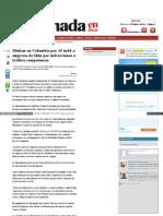 Multan en Colombia Por 45 Mdd a Empresa de Slim Por Infracciones a La Libre Competencia