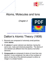 Chapter 2 Atoms, Molecules, Ions