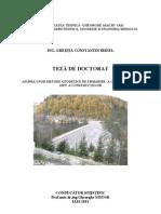 Metode geodezice de urmarire a comportarii in situ a constructiilor - Gresita Constantin