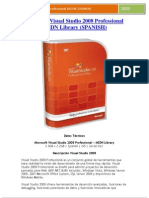 Descripción de Microsoft Visual Studio 2008 Professional  MSDN Library