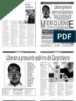 Versión impresa del periódico El mexiquense  5 septiembre 2013