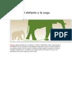 El Elefante y La Soga
