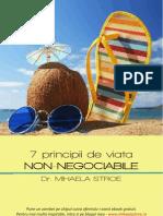 7 Principii de Viata Non-negociabile