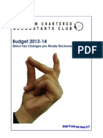 Budget Booklet 201314