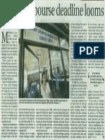 Myanmar Bourse Deadline Looms