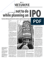 What Not to Do While Planning an IPO