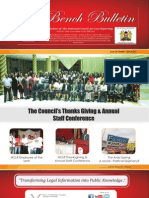 Bench Bulletins - Issue 18