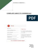 complaint file