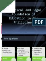 legalfoundationofeducationinthephilippines-120426001204-phpapp01