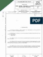 STAS 4294-73 Marci Pentru Nivelment Si Pentru Triangulatie Geodezica