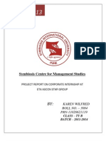 Project Report on Corporate Internship