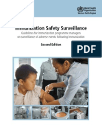 Immunization Safety Surveillance