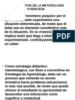 Metodología Vivenciada