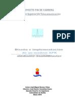 Diseño e implementación de un módem APK mediante SoundBlaster