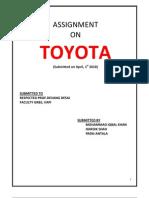 29530832 Assignment on Toyota.pdf.Neha