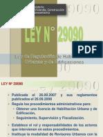 Ley29090-Regulacion Habli. Urb y Edificatorias