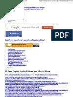 25 Free Digital Audio Editors You Should Know