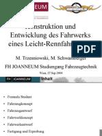 Konstruktion Und Entwicklung Des Fahrwerks Eines Leicht Rennfahrzeuges SymposiumReifenFahrwerk TRZESNIOWSKI SCHWAMBERGER