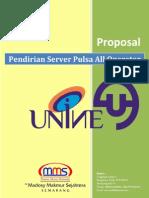 Proposal Penawaran Kerjasama Investasi Mms - UNINE