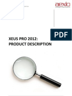 Aexio Xeus Pro Product Description