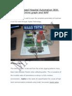 IEEE PROJECTS ECE-ZigbeebasedHospitalAutomationWithOnline Graphand WAP