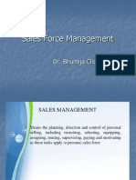 CH-2 Sales Force Management