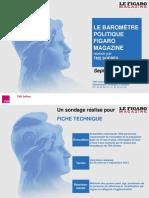 Baromètre politique Figaro Magazine - septembre 2013