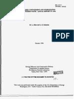 ICDF Stabilization