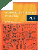 Arquitectura y Autonomia en La Vejez