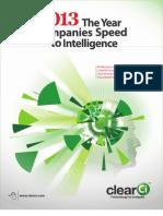 2013 the Year Companies Speed