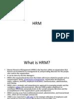 HRM Environment