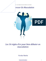 Guide 16 Regles Bien Debuter Musculation
