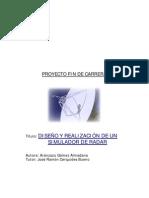 Diseño y realización de un simulador de radar