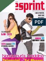 Cinesprint Magazine | Cine Magazine | Cinesprint volume 2 issue 5 | Bangalore Wishesh