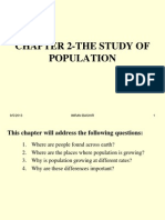 Chapter 2-The Study of Population