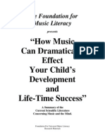 Children and Music Research