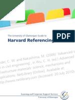 Harvard Referencing Revised Jan 2012