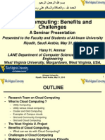 Ammar Seminar on Cloud Computing